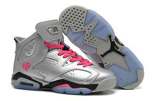 Кроссовки мужские Nike Air Jordan 6 / AJM-085 (Реплика)