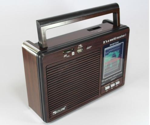 Радиоприёмник GOLON RX-9977UAR, портативное радио