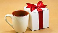 """Коробка """"Для чашки"""" М0017-о5, розмір: 100*100*100 мм"""