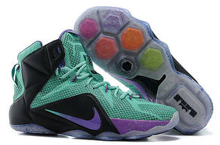 Кроссовки мужские Nike Lebron 12 / LBM-030 (Реплика)