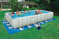 Каркасный бассейн Intex Ultra Frame Rectangular Pool 54980, 732х366х132 см.