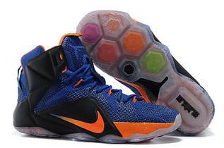 Кроссовки мужские Nike Lebron 12 / LBM-031 (Реплика)