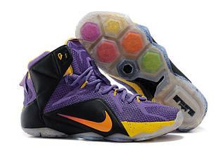 Кроссовки мужские Nike Lebron 12 / LBM-032 (Реплика)