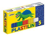 """Пластилин """"Детский""""  5 цветов"""