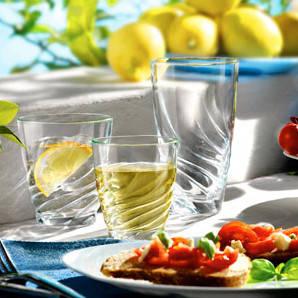 Набор стаканов высоких Bormioli Rocco DAFNE 154120Q03021990 (3 шт / 390мл), фото 2
