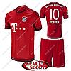 Футбольная форма детская ФК Бавария Роббен №10. Основная форма 2016