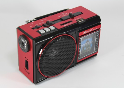 Компактный радио-фонарь Golon RX 9009, LED, воспроизводит файлы МР3/WAV с внешних накопителей и устройств - Техно порт в Днепре