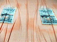 Трикотаж вискозный City Купон (персик) (арт. 051130) Италия в отрезах