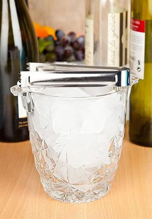 Ведро для льда BORMIOLI ROCCO DEDALO  226070GQ2021990  (стеклянное, 1000 мл), фото 2