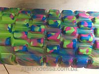 Роллер массажный длина 33см d=14,5см цвет комуфляж