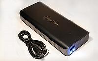 Универсальная мобильная батарея FrimeCom 5S-BK + фонарик