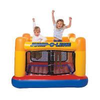 Intex Детский игровой надувной центр-батут Джамп-о-Лин (JUMP)
