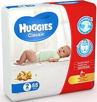 Подгузники HUGGIES  Classic 2 (3-6kg) 88шт