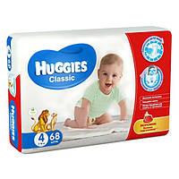 Подгузники Huggies Classic 4 (7-18 кг) 68шт