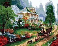 Раскраска по цифрам Art Craft Летняя резиденция худ. Кинкейд Томас (k5069) 40 х 50 см