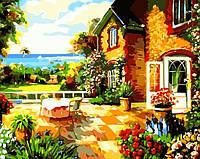 Картина по номерам Art Craft Терасса с видом на море (k5090) 40 х 50 см