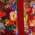 Платье с вертикальным декором цвет красный  НАНА, фото 4