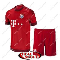 Футбольная форма ФК Бавария. Основная форма 2016