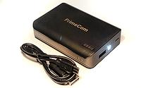 Универсальная мобильная батарея FrimeCom 4S-BK+  LED фонарик