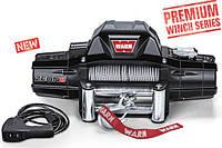Лебедка WARN  OFF-ROAD ZEON 8, 12V,  трос 30,5 м х 8 мм, ролики, 3630 кг