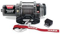 Лебедка WARN  ATV Vantage 2000-s, 12V,  15 м синт. троса, клюз, 907 кг