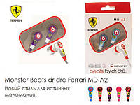 Наушники Monster Beats by dr dre Ferrari: новый стиль для истинных меломанов!
