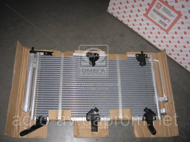 Радиатор кондиционера (2172-1300008) ВАЗ 1118 с ресивером