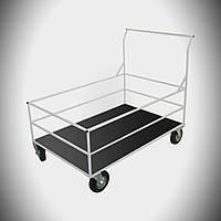Тележка для перевозки грузов внутри больничного корпуса