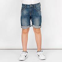 Низ лето шорты джинс, с подворотом, сзади лейба STRONG DENIM мал. синий 100 % хлопок 141BFBL008 BRUMS, Италия
