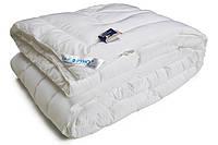 Двуспальное одеяло из иск. лебяжьего пуха, микрофибра, демисезонное.