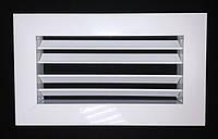 Решетка настенная однорядная регулируемая 3040-1  450х100 мм