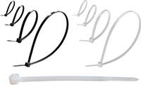 Стяжка хомут пластикавая 4х250 (100шт.) GAV210W