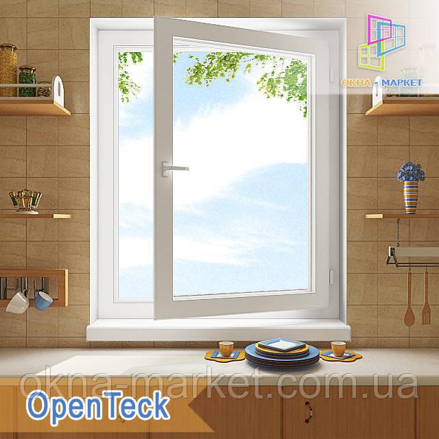 """Вікна одностулкові Openteck 800x1400 в Києві купити """"Вікна Маркет"""""""