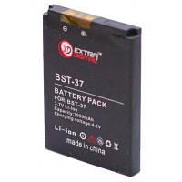 Аккумуляторная батарея EXTRADIGITAL Sony Ericsson BST-37 (1000 mAh) (BMS6351)