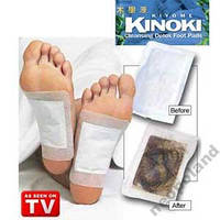 Пластыри для вывода токсинов KINOKI,КИНОКИ, фото 1