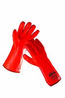 Перчатки морозостойкие с покрытием поливинилхлоридом «FLAMINGO» код. 0119000199110