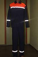Костюм рабочий со светоотражающими полосами