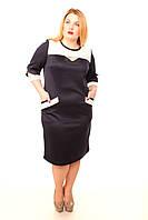 Стильное платье большой размер Лайма (48-54), фото 1