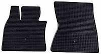 Резиновые передние коврики для BMW X5 (E70) 2007-2013 (STINGRAY)