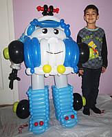 Фигура Робокар Полли из мультфильма из воздушных шариков на День рождения