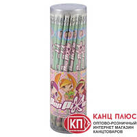 "KITE Карандаши графитные с резинкой ""Pop Pixie"" 36 шт в тубе  арт.PP13-056K"