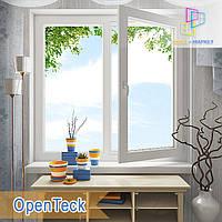 """Двостулкові металопластикові вікна 1200x1400 Openteck eco у Київі """"Вікна Маркет"""", фото 1"""