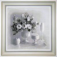 """Набор для вышивания крестиком """"Белый натюрморт"""""""