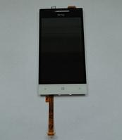 Оригинальный дисплей (модуль) + тачскрин (сенсор) для HTC Windows Phone 8S A620e (белый цвет)