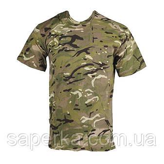 Камуфляжная армейская футболка MTP 100% Х/Б, фото 2
