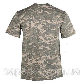 Камуфляжная военная футболка ACU 100% Х/Б, фото 2