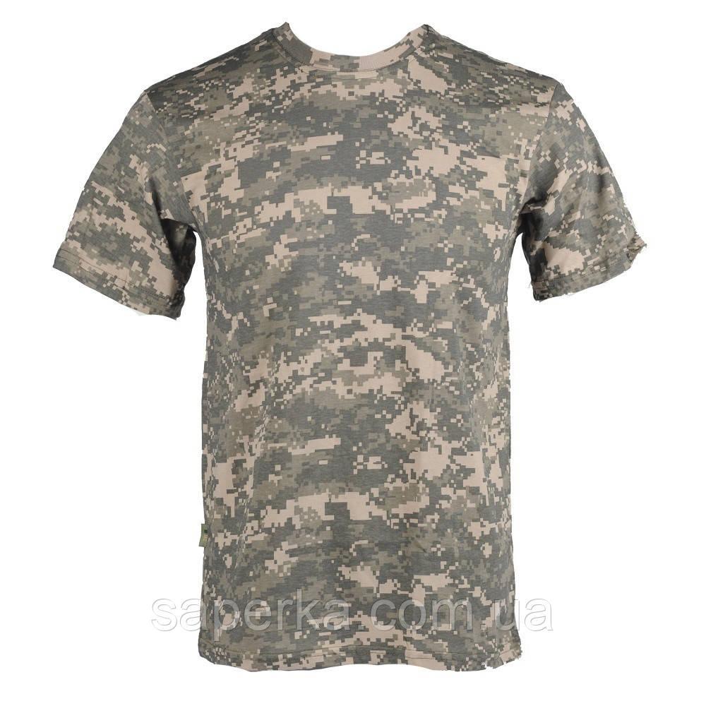Камуфляжная военная футболка ACU 100% Х/Б