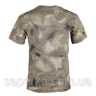 Камуфляжная милитари футболка A-TACS AU 100% Х/Б, фото 2