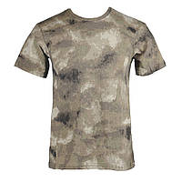 Камуфляжная милитари футболка A-TACS AU 100% Х/Б