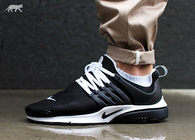 Кроссовки мужские Nike Air Presto Breathe Black White